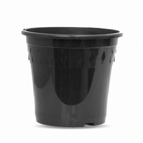 Pot de culture - noir - 4 litres