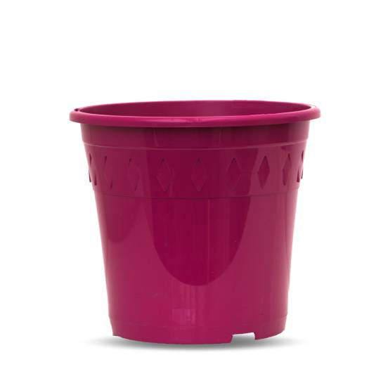 Pot de culture - fuchsia - 4 litres