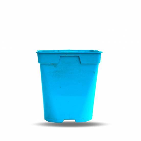 Pot de culture bleu 1 litre