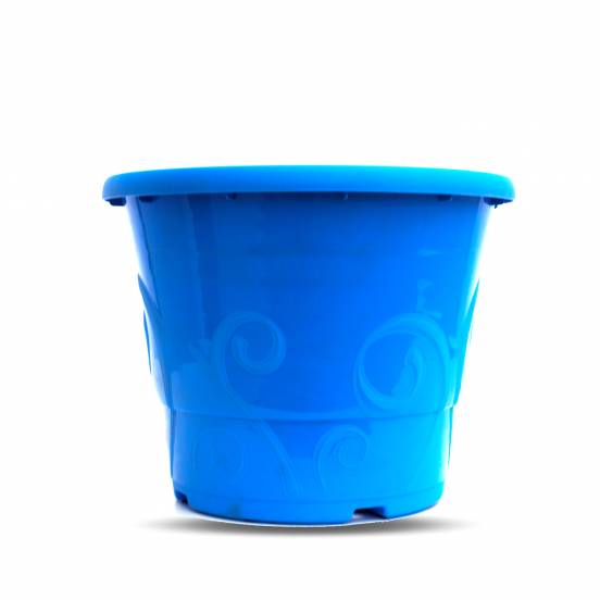 Pot déco - 5,7 litres bleu