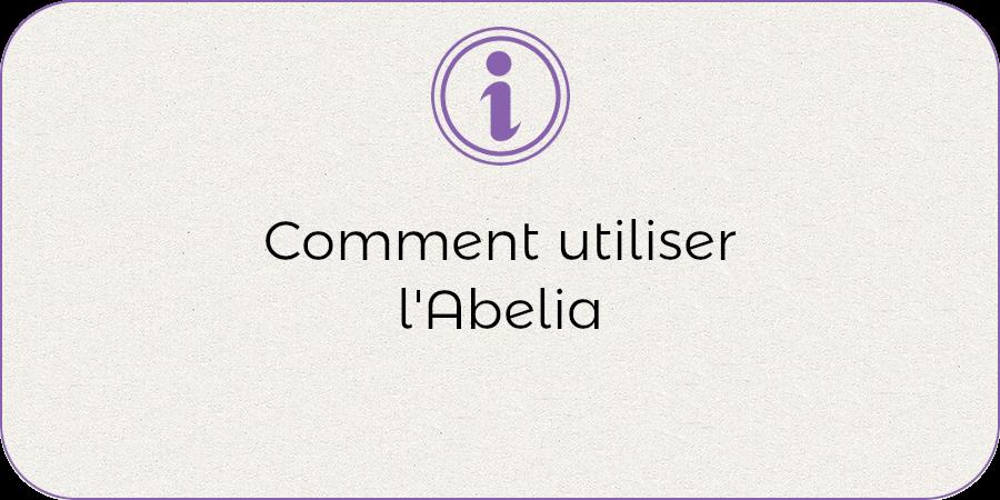 Tout utiliser de l'abelia !