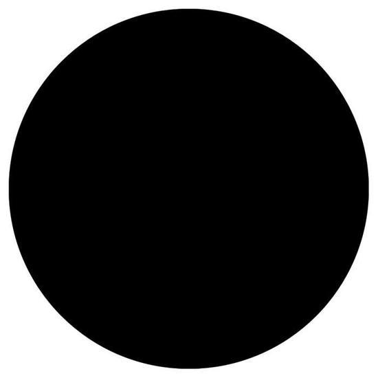 Picto rond noir