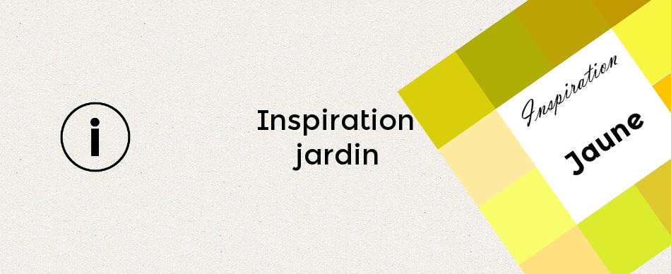 Inspiration jardin jaune