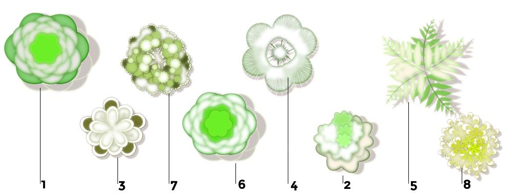 Inspiration jardin blanc